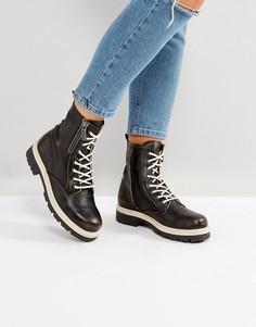 Походные ботинки с молниями Tommy Hilfiger Denim - Черный