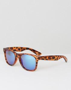 Солнцезащитные очки в стиле ретро Vans Spicoli 4 - Коричневый