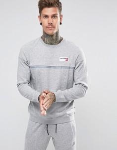 Серый свитшот New Balance Athletics MT73526_AG - Серый