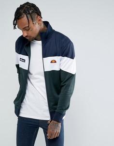 Спортивная куртка колор блок Ellesse - Зеленый
