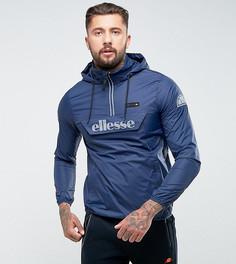 Темно-синяя свободная куртка со светоотражающим логотипом Ellesse - Темно-синий