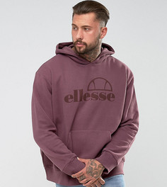 Худи фиолетового цвета свободного кроя Ellesse - Фиолетовый