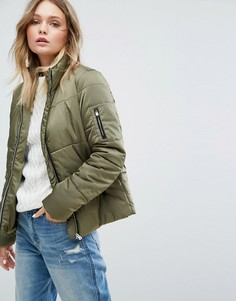 Стеганая куртка JDY - Зеленый