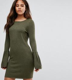 Платье-джемпер с расклешенными рукавами Vero Moda Tall - Зеленый