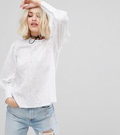 Блузка с пышными рукавами Reclaimed Vintage Inspired - Белый
