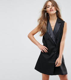 Платье-смокинг Boohoo Petite - Черный