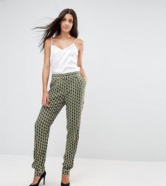 Свободные брюки с геометрическим принтом Y.A.S Tall - Темно-синий