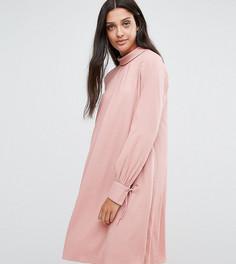 Свободное платье с завязками на манжетах Y.A.S Tall - Мульти