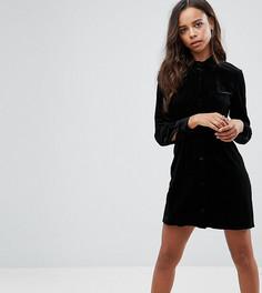 Платье-рубашка Missguided Petite - Черный