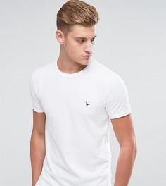 Белая обтягивающая футболка Jack Wills Landrier - Белый