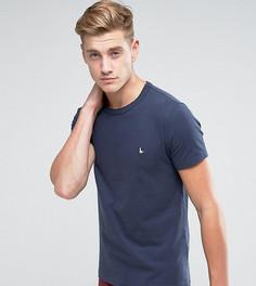 Темно-синяя обтягивающая футболка Jack Wills - Темно-синий