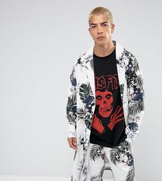 Легкое пальто с цветочным принтом Reclaimed Vintage Inspired - Белый