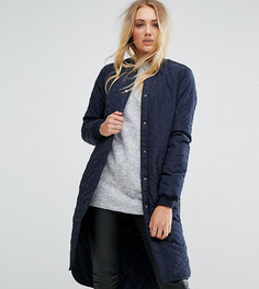 Стеганая куртка Noisy May Tall - Темно-синий