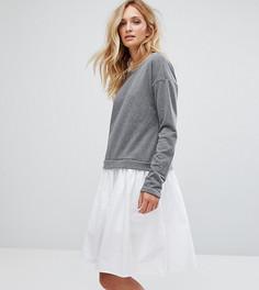 Платье-свитшот Noisy May Tall - Серый