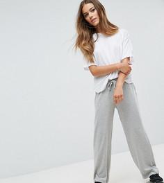 Трикотажные брюки с затягивающимися шнурками Noisy May Petite - Мульти