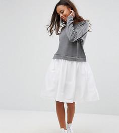 Платье-футболка Noisy May Petite - Серый