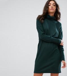 Платье-джемпер с высокой горловиной Noisy May Tall - Зеленый