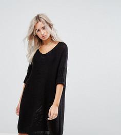 Вязаное платье Noisy May Petite - Черный