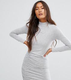 Облегающее платье со сборками Noisy May - Мульти