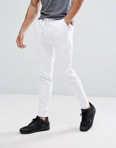 Белые спортивные штаны скинни ASOS - Белый
