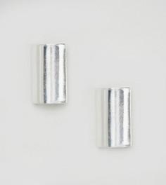 Серебряные серьги-гвоздики ASOS - Серебряный