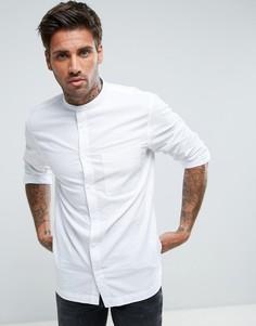 Рубашка с воротником на пуговице Waven - Белый