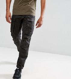 Суженные книзу брюки карго с молнией G-Star TALL Rovic 3D - Черный