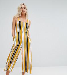 Комбинезон в полоску New Look Petite - Желтый