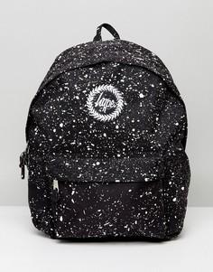 Черный рюкзак в крапинку Hype - Черный
