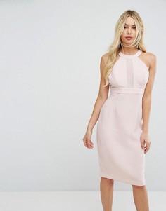 Шифоновое платье BCBGeneration - Розовый