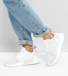 Кроссовки (белый/серый) adidas Originals NMD R2 - Белый