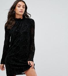 Платье с высоким воротом Fashion Union Tall - Мульти