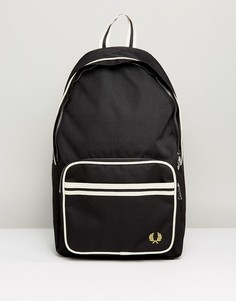 Черный рюкзак с логотипом Fred Perry - Черный