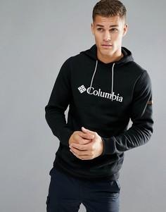 Худи черного цвета с логотипом Columbia - Черный