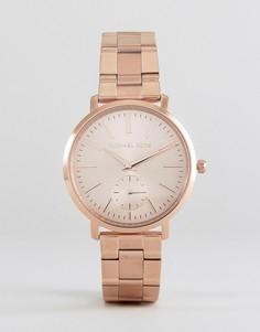 Наручные часы цвета розового золота Michael Kors MK3501 Jaryn - Золотой