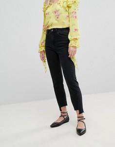 Джинсы в винтажном стиле Miss Selfridge - Черный