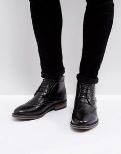 Черные броги New Look - Черный