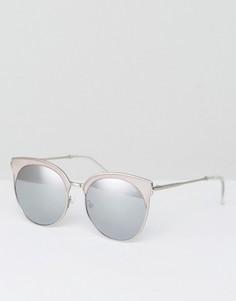 Розовые солнцезащитные очки в стиле ретро Quay Australia Mia Bella - Розовый
