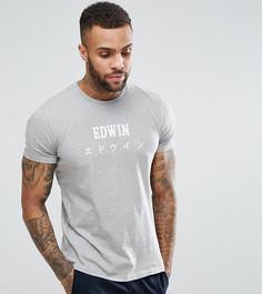 Футболка с логотипом Edwin - Серый