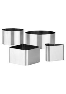 Набор формочек для придания формы продуктам GrandCHEF (4 шт.) tescoma
