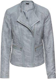 Куртка из искусственной замши (синий лед) Bonprix