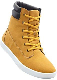 Ботинки на шнурках (верблюжий) Bonprix