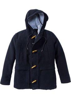 Куртка Regular Fit в дизайне под шерстяную (темно-синий) Bonprix