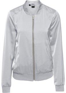 Куртка-блузон (серебристый) Bonprix