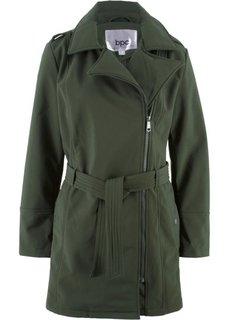 Байкерская куртка-софтшелл (темно-оливковый) Bonprix