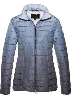 Стеганая куртка градиентной расцветки (шиферно-серый) Bonprix