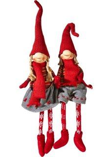 Сидящие фигурки Руди & Мерле (2 шт.) (различные расцветки) Bonprix