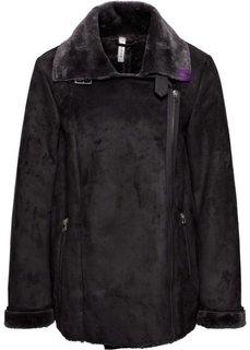 Двухсторонняя куртка (черный) Bonprix
