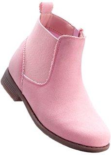 Ботинки-челси (дымчато-розовый) Bonprix