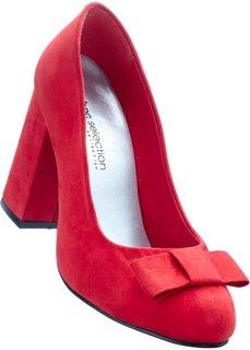 Туфли (красный) Bonprix